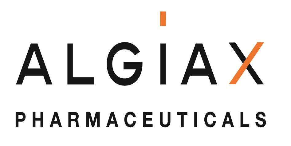 Logo Arzneimittel/Schmerz Startup ALGIAX- HTGF Start-up VC Finanzierung