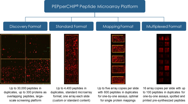 Microarray Plattform blau