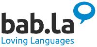 Logo digitale Anwendungen Startup bab.la- HTGF Start-up VC Finanzierung