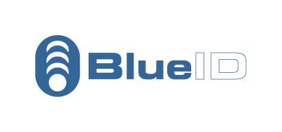 Logo: BlueID (Exit)