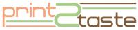 Logo digitale Anwendungen/Industrial Tech/Chemie Startup Print2Taste - HTGF Start-up VC Finanzierung