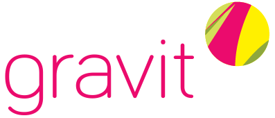 Logo Anwendungen/Publishing Startup gravit - HTGF Start-up VC Finanzierung