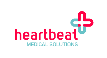 Logo: heartbeat medical