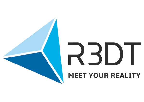 Logo: R3DT – MEET YOUR REALITY