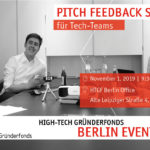 HTGF Pitch Feedback Session