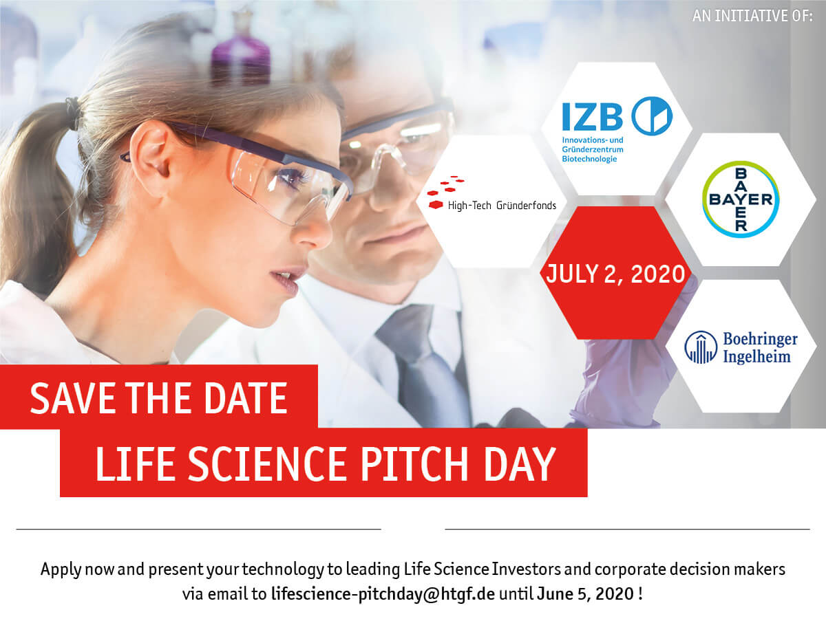 HTGF Life Science Pitch Day 2020