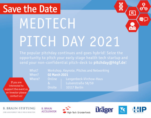 HTGF MedTech Pitch Day 2020