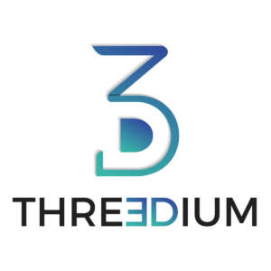 Logo Tech/Infrastructure/Retail Intelligence Startup Threedium - HTGF Start-up VC Finanzierung