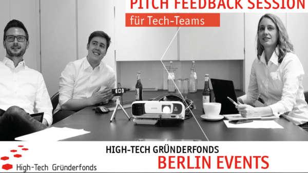 HTGF Berlin Pitch Feedback Session