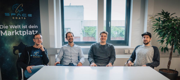 Team Spacegoats - HTGF Start-up Investment