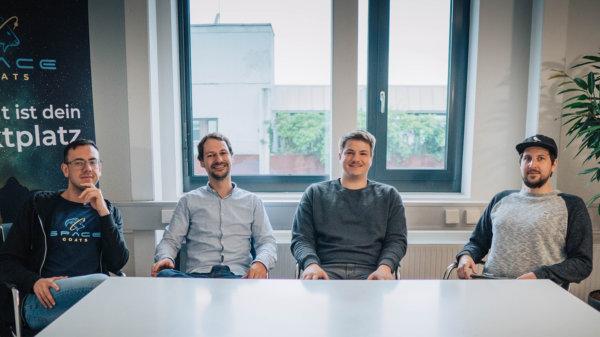 Team Spacegoats - HTGF Start-up Investment