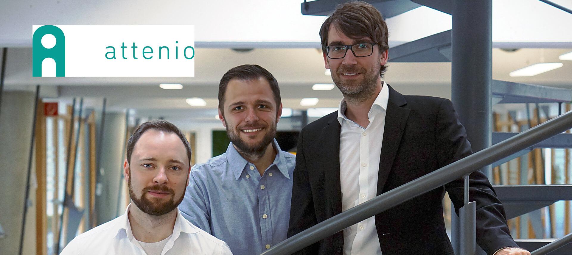 Team attenio - HTGF Start-up Investment