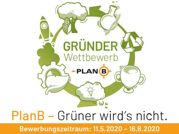 Logo Gründer Wettbewerb PlanB Businessplan-Wettbewerb - Businessplanwettbewerb HTGF Netzwerkpartner
