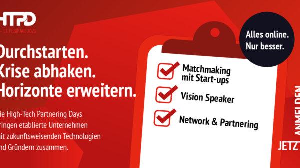 High-Tech Partnering Days 2021